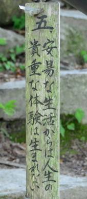 1-16.08.04 32番 観音正寺.石段途中の教訓-3.jpg