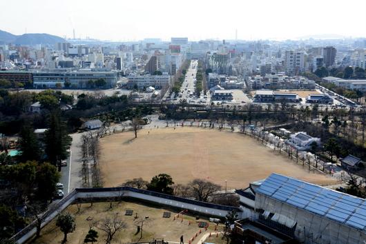 1-17.01.22 大天主からの眺望、姫路駅三の丸方面.jpg